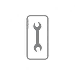 """Werkzeug-Sticker """"Doppelgabelschlüssel"""""""