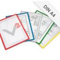Infotasche DIN A4 mit Ausschnitt