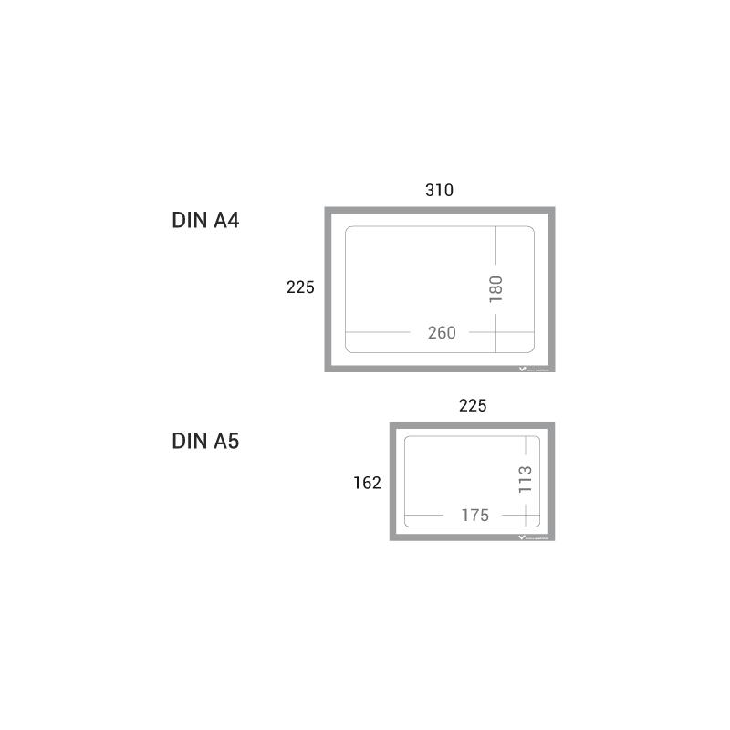 infotaschen magnetisch din a4 mit ausschnitt zum einfachen beschriften. Black Bedroom Furniture Sets. Home Design Ideas