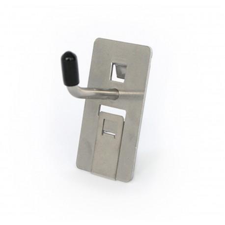 Werkzeughalter Werkzeughaken für Lochplatte Einzelhaken 25mm, VE 5Stk.