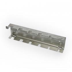 Schraubendreherhalter-Leiste aus Edelstahl für Lochplatte
