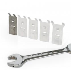 Werkzeughalter Schraubenschlüsselhalter aus Edelstahl, Größe: S