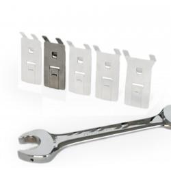 Schraubenschlüsselhalter aus Edelstahl, Größe: S, VE 5Stk.
