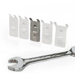 Schraubenschlüsselhalter aus Edelstahl, Größe: M, VE 5Stk.