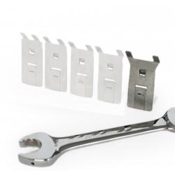 Werkzeughalter Schraubenschlüsselhalter aus Edelstahl, Größe: XL