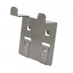 Werkzeughalter Hammerhalter aus Edelstahl für Lochplatten, Größe S, VE 2Stk.