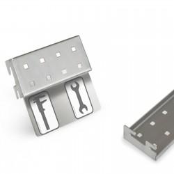 Werkzeugleiste zum Einhängen Beschriftungsleiste 2 Lochpaare