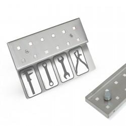 Werkzeugleiste magnetische Anbringung