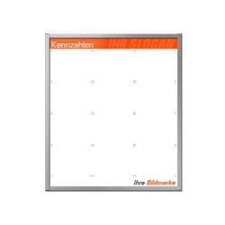 Whiteboard - kundenindividuell bedruckt